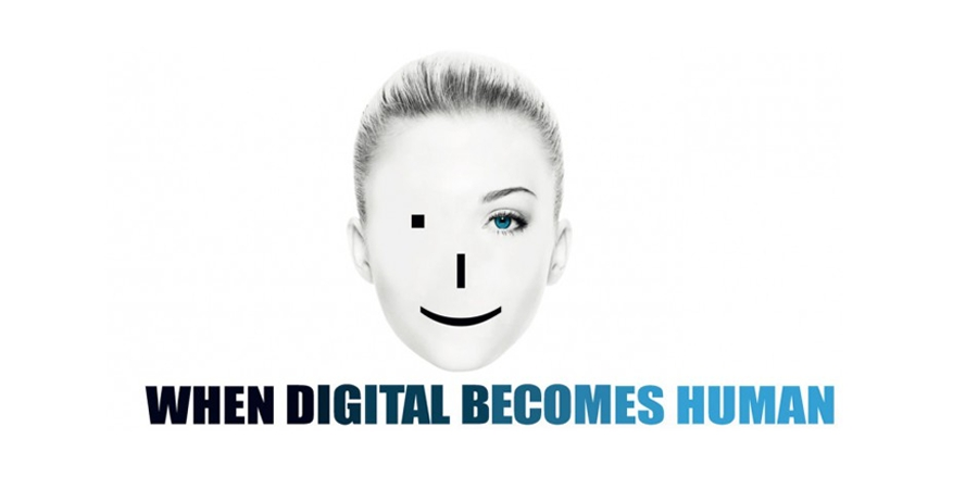 """When digital becomes human"". Book photo created by freepik - www.freepik.com"