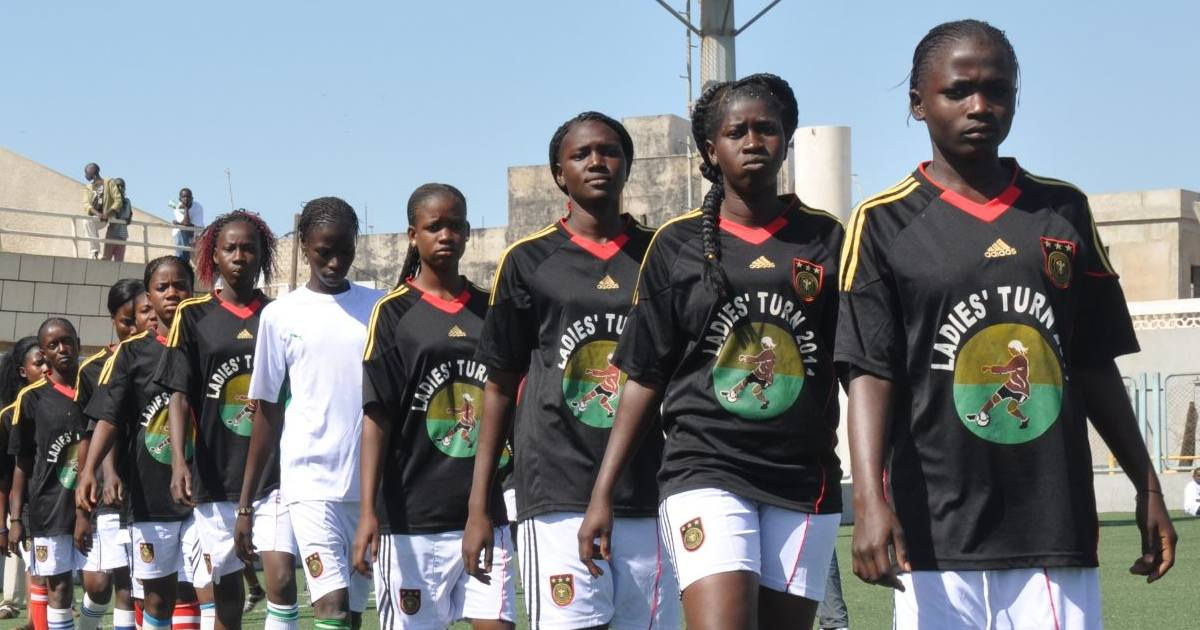 Senegal: voetbal & girl power Foto: Plan International